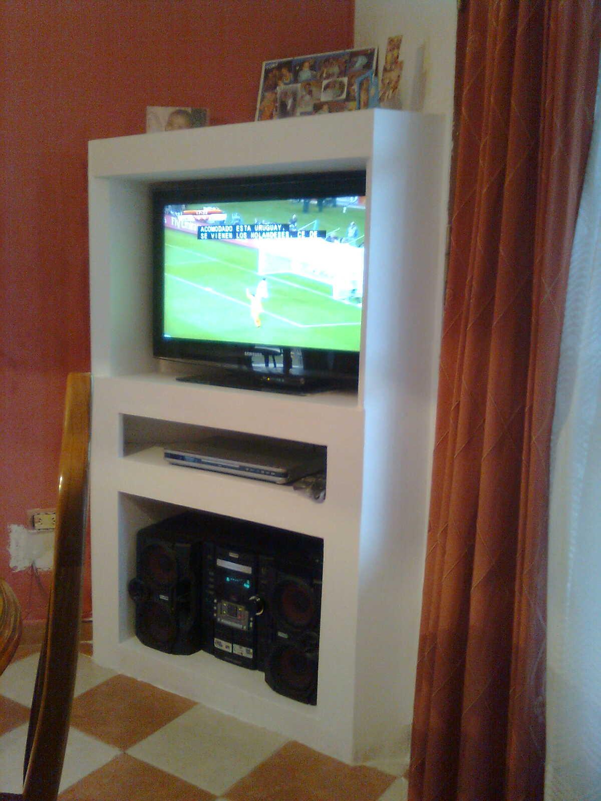 Como hacer un mueble para tv sencillo - Mueble para television ...