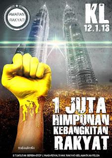 Himpunan Kebangkitan Rakyat 12. 1. 2013
