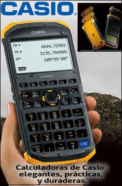 Calculadoras resistentes de Casio