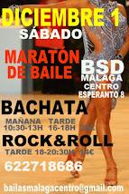 MARATÓN DE BAILE INICIACIÓN: BACHATA  Y ROCK&ROLL  EN BSD MÁLAGA CENTRO