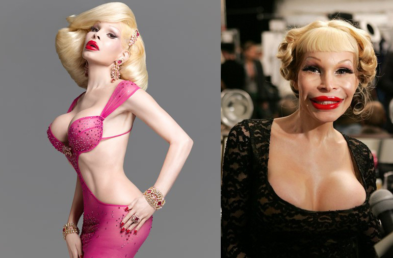 NUMBER 17. Amanda Lepore. Amanda was a famous New York transsexual