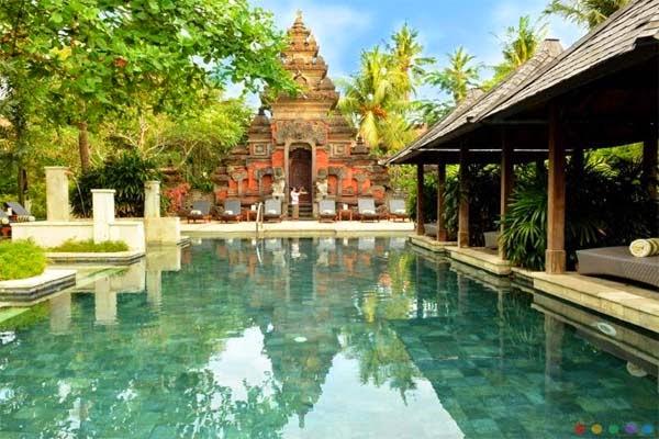Kolam Renang Bali Garden Beach Resort