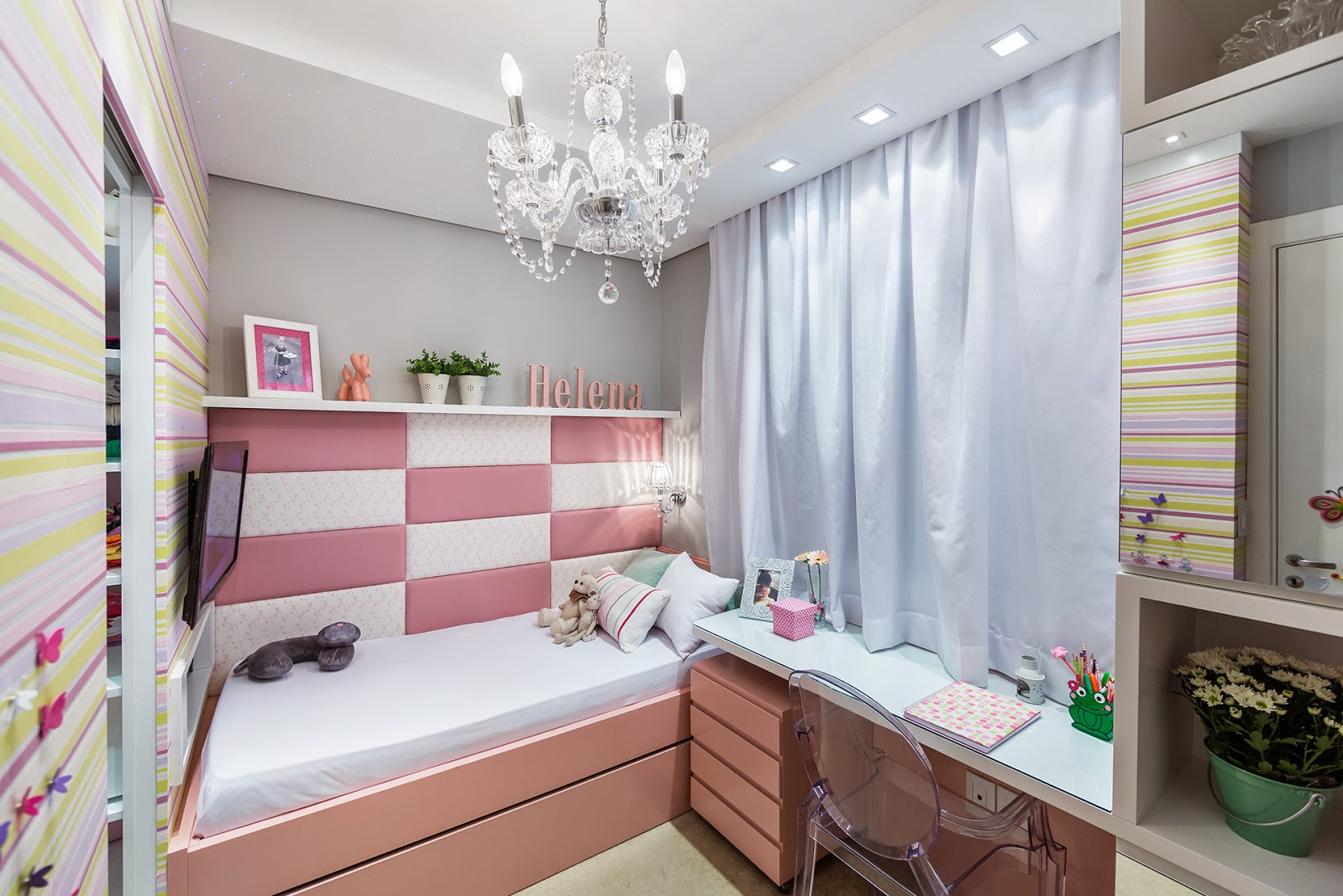 Patricia roque mariante projetos de dormit rios das crian as for Dormitorio 8m2