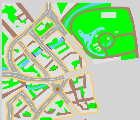 He aqui un adelanto del mapa donde Holmes tendra sus aventuras.