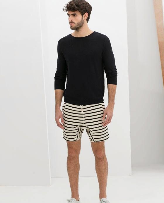 Manera correcta de vestir un short.