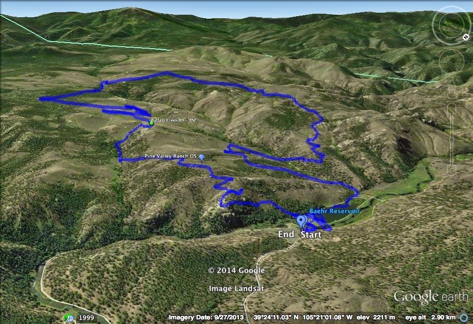 Go Hike Colorado: Buffalo Creek Recreation Area, Pike National Forest