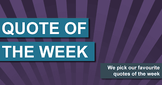 Quote of the Week - Week of Sept. 28