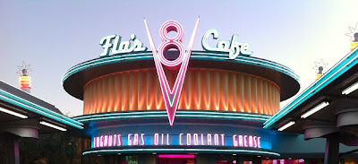 Flo's V8 Cafe at Cars Land