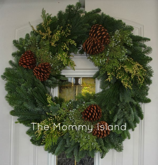 Christmas Forest Wreath 12/9