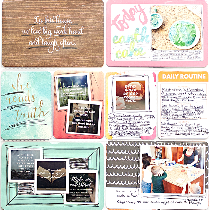 Heather Greenwood Designs | Week 38 2014 Project Life® page using Studio Calico kit | #projectlife #SilhouetteAmerica
