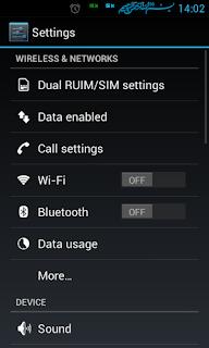 Cara Mengaktifkan Fitur Internet GSM di Smartfren Andromax C