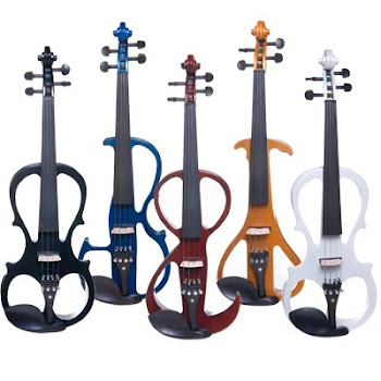 Unique Type of Colorful Cecilio Violins