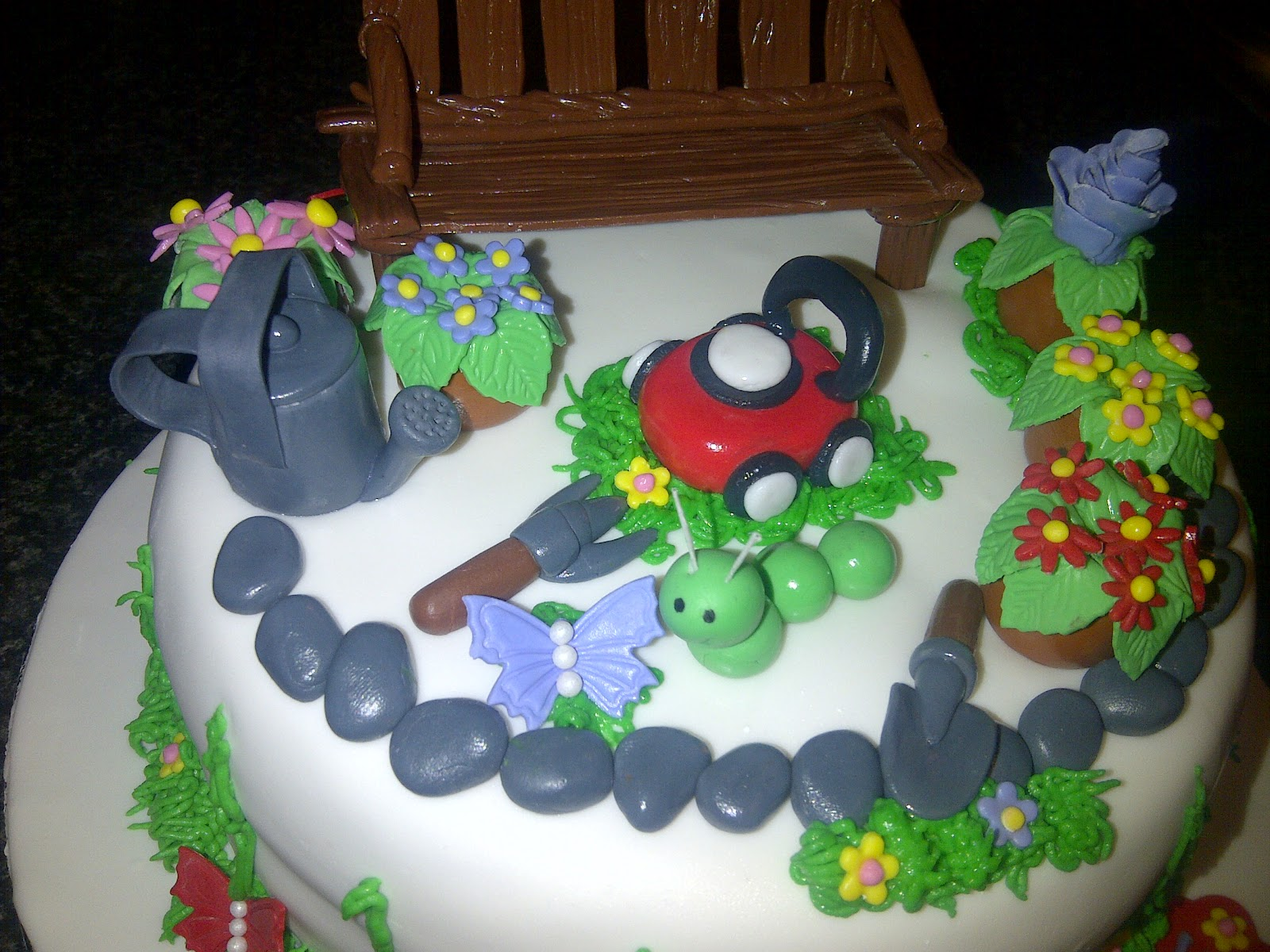 Die Koekblik Gardening Birthday Cake 2 March 2012