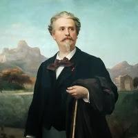 'Retrat del poeta Frederic Mistral (Félix-Auguste Clément)'