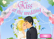 juegos de besos kiss at the wedding