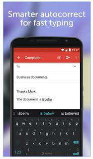 SwiftKey Keyboard - un bon clavier Android