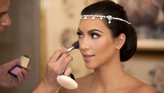 As jóias que Kim Kardashian usou em seu casamento