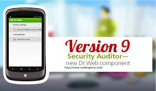 Link Dr.Web v9 Antivirus For Android Clubbit