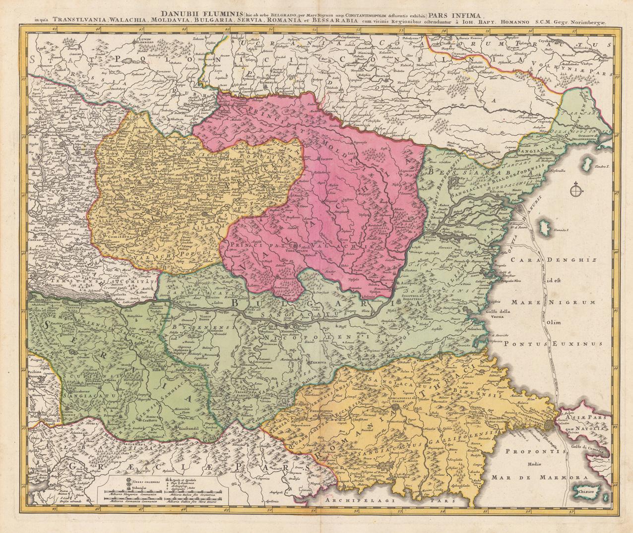 Maps With Transylvania And Romania