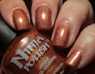 Ninja Polish Infinity Gems Time Swatches Review
