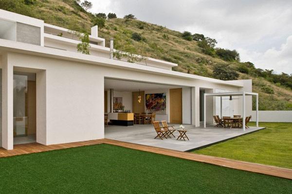Hogares frescos llamativa y moderna es la casa en las - Apartamentos de montana ...