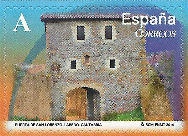 Sello de la Puerta de San Lorenzo, Laredo, Cantabria