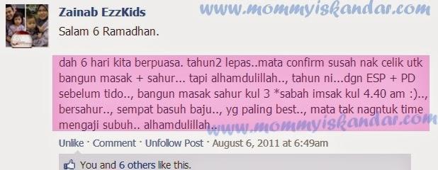Supplemen Terbaik Ibu Menyusu Ketika Ramadhan