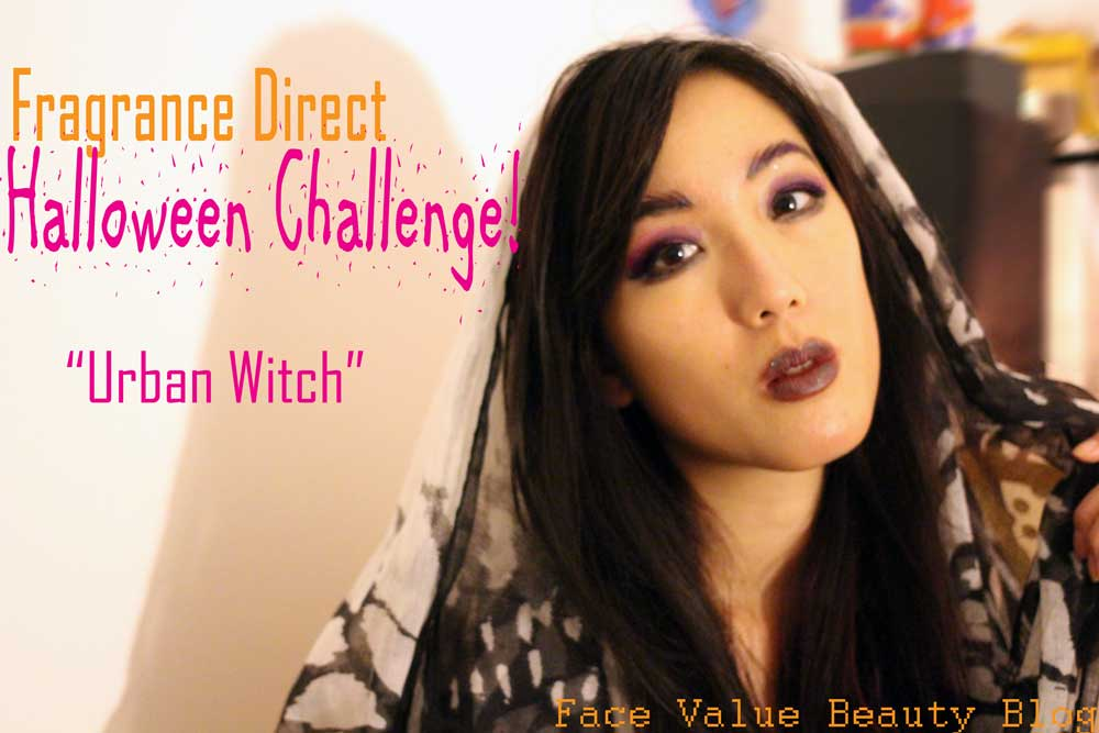 Fragrance Direct HALLOWEEN CHALLENGE: Urban Witch Makeup Look