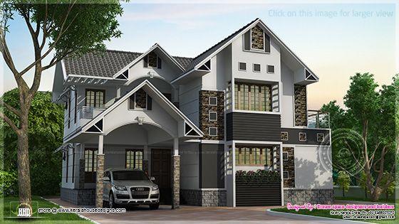 Fusion style villa design