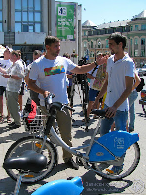 Тестирование платного проката велосипедов в Казани
