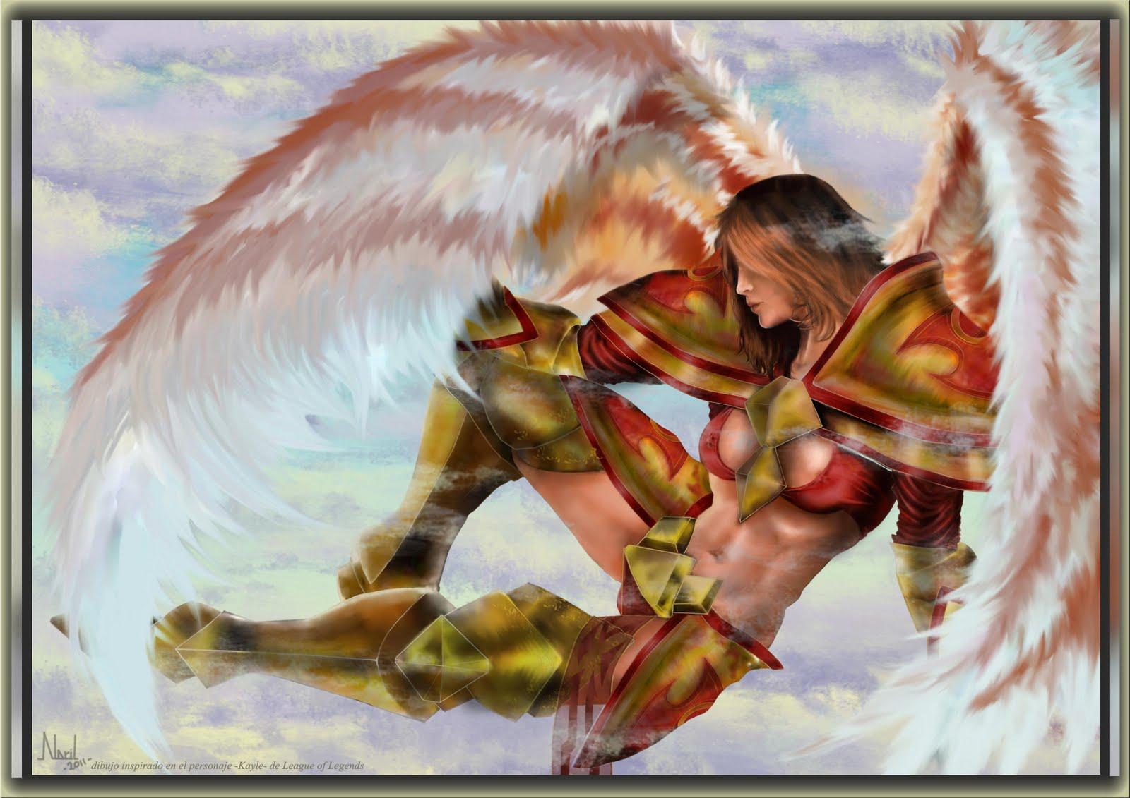 Kayle Fan Art (League of Legends)