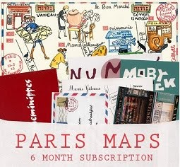 Paris Maps/Paris Breakfast♥