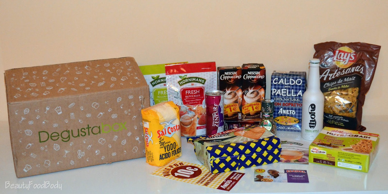 review degustabox junio 2014 beautyfoodbody