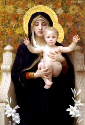 La Vierge au Lys (The Virgin of the Lilies)