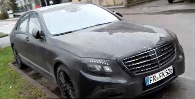 Spy Video: 2014 Mercedes S-Class With Minimal Camo