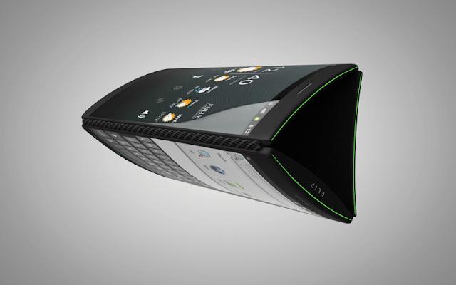 Concept 3 ecrans tactil flipphone