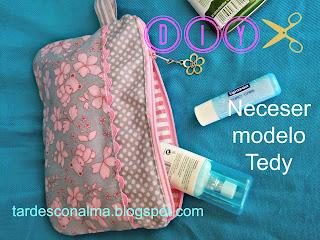Costura, Moldes, Paso a paso, Patchwork, Fácil, Barato, Niña, Neceser, Tutorial, DIY
