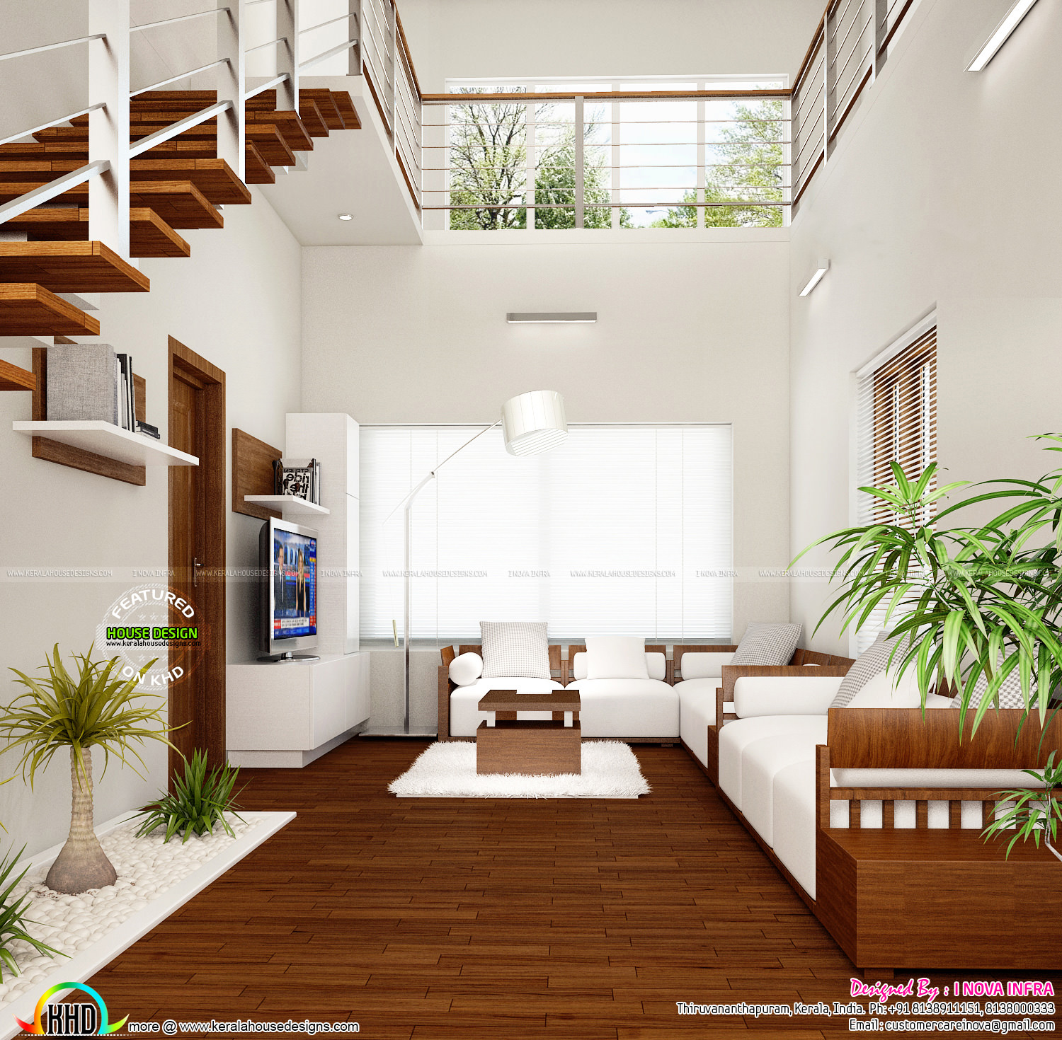 New classical interior works at trivandrum kerala home for Picture of interior designs of house