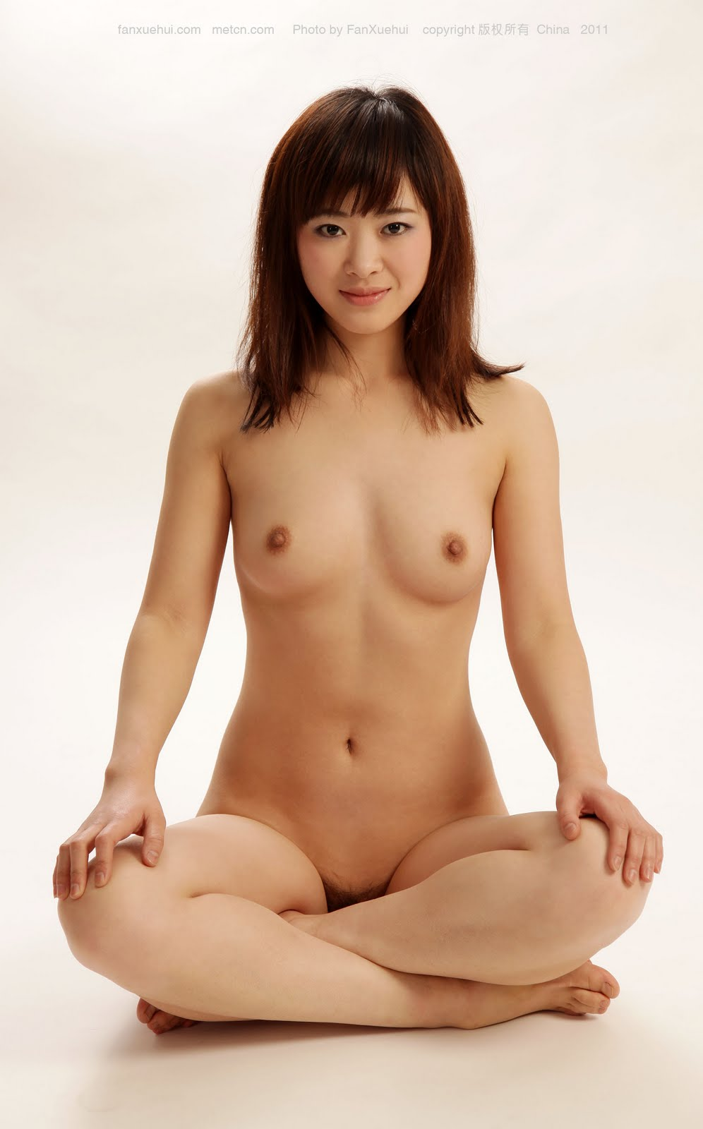 Met Cn Chinese Model Langyu Nude Body Art White Sey P