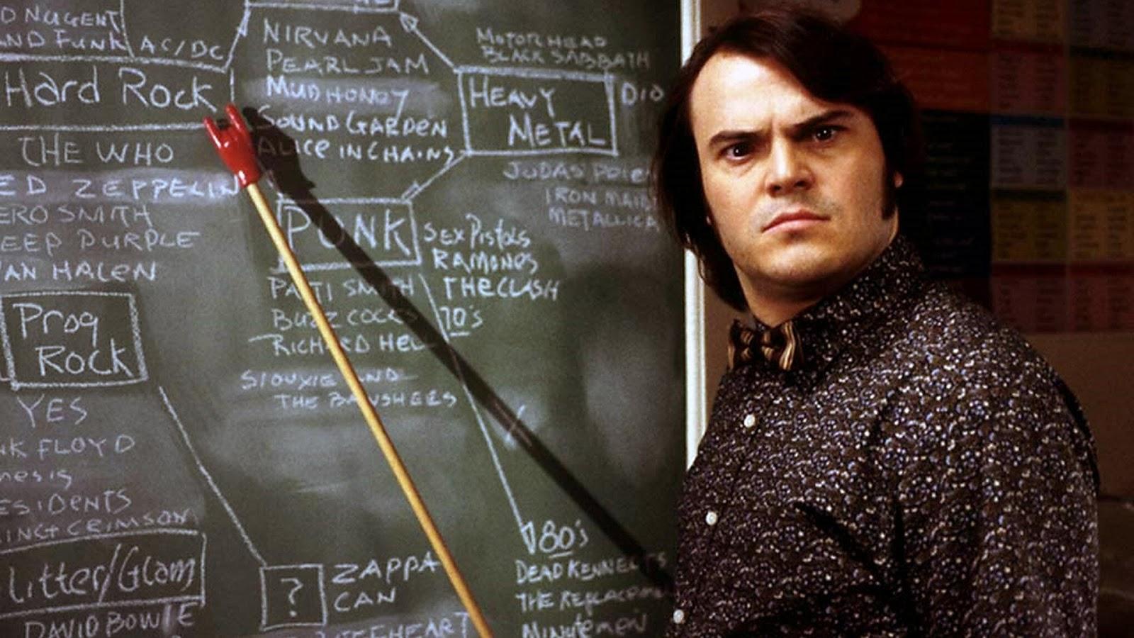 School of Rock Jack Black