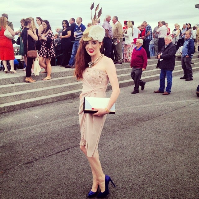Bec Boop at Galway Races