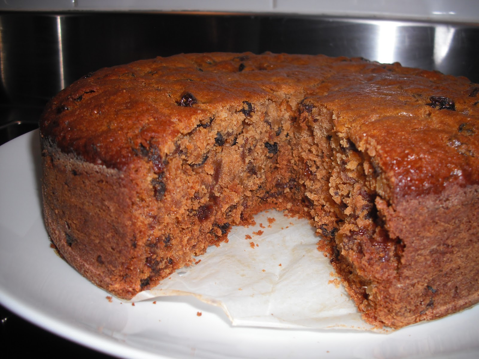 summer fruits healthy boiled fruit cake recipe