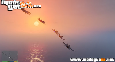 V - Mod Fleet Air para GTA V PC