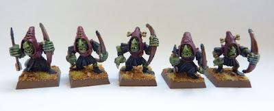 Night Goblin archers
