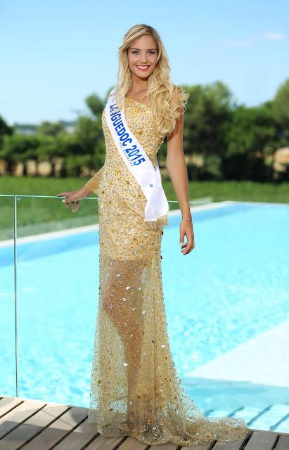 Léna Stachurski miss languedoc robe gala