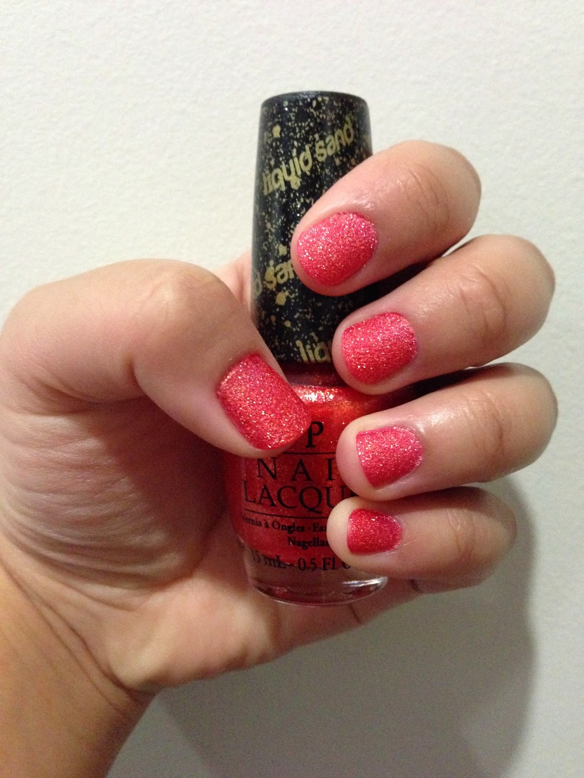 OPI Liquid Sand (Jinx) Review