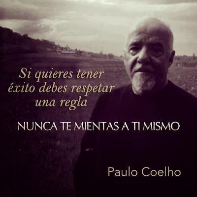 """Paulo Coelho: """"Nunca te mientas a ti mismo"""""""