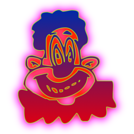 Laugh Clown programmer art sprite!