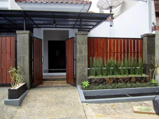 gambar pagar minimalis