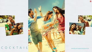 Cocktail HD High Resolution  Wallpapers - featuring Saif Ali Khan, Deepika Padukone and Diana Penty